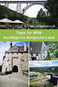 #Urlaub in #Deutschland kann entzücken und Spaß für die ganze Familie bieten. Meine Ausflugstipps für das #BergischesLand in #NRW. Places To See, Messages, Mansions, House Styles, City, Nature, Traveling, Outdoor, Tour Operator