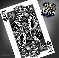 tattoo ideas, king and queen of hearts | Og Abel Queen Of Hearts http://lilz.eu/king-of-tattoo/