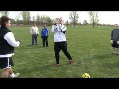 Soccer Goalkeeper Combo Drill Hands and Feet