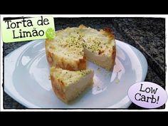 Torta de Limão Low Carb - Sobremesa! - YouTube