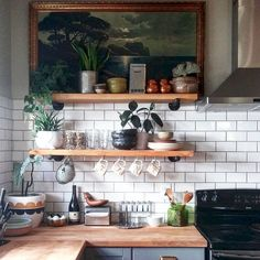 Stunning 85 Rustic Kitchen Decor with Open Shelves Ideas https://insidecorate.com/85-rustic-kitchen-decor-open-shelves-ideas/