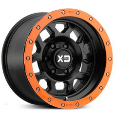 XD Series Wheels Satin Black w/ Orange Removeable Ring Orange Jeep, Blue Jeep, Rims And Tires, Old Tires, Car Rims, Jeep Wrangler Accessories, Truck Accessories, Offroad Accessories, Jeep Wheels