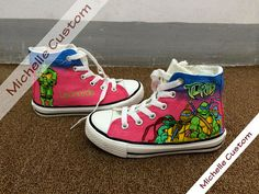 3b6d7af4d941 Pink Converse Custom Shoes Hand Painted Shoes