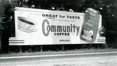 1960's Billboard Advertising