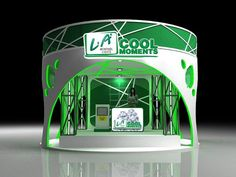 LA Menthol Lights Double deck booth on Behance