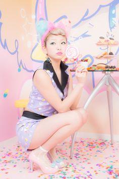 Natsumi Saito × galaxxxy Dreamy Party set up - galaxxxy
