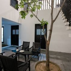 Khanh House is a Vietnamese family home located in the ancient city of Hoi An, central Quang Nam Province in Vietnam. Hoi An Ancient Town . Ground Floor Plan, Courtyard House, Townhouse, Pergola, Studios, Home And Family, House Design, Outdoor Structures, Patio