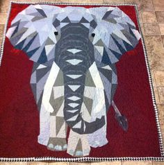 2nd Easy E darker Violet Craft Elephant Abstractions