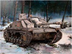 Stug III Ausf. G Sturmgeschutz III, producción de diciembre de 1943