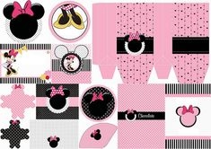 Divertidos Imprimibles Gratis de Minnie Mouse Rosa. | Ideas y material gratis para fiestas y celebraciones Oh My Fiesta!