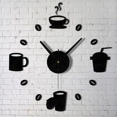 Reloj con vinilos