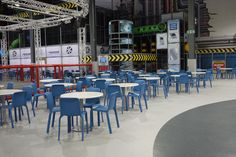 We supplied Play Factore with cafe furniture for their Manchester location and developed custom benches for the play rooms.
