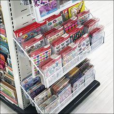 Greeting-Card Slotwall Endcap Display Greeting Card Store, Greeting Cards, Target Gifts, Store Fixtures, Retail, Display, Floor Space, Billboard, Sleeve
