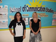 COMM students Allison Kurz and Josi Heinz are busy with an internship and practicum this summer in the School of Communication Studies.