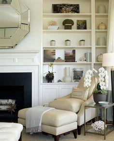 Beautiful fireplace mantles