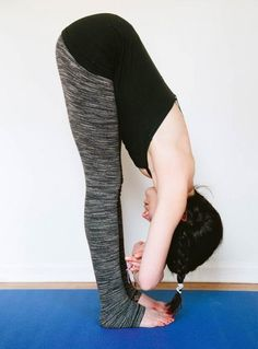 Yoga for Back Pain: Forward Fold with Toes Touching