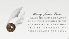 The Last Will and Testament of Dumbledore: To Harry