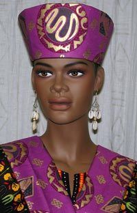 African hat  Wrap around hat  African hats  African head wear ... e591d9d24d9