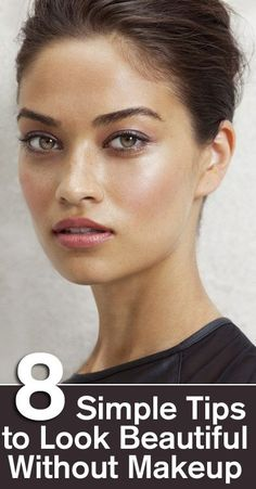 8 Simple Tips To Look Beautiful Without Makeup | Visit SkyMall.com to keep it natural and healthy!