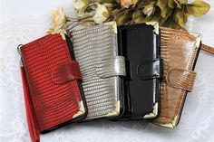 Lumiel Gold Snake Diary Wallet Case for LG G Flex 2. $25.90