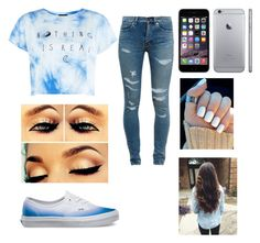 """""""Untitled #131"""" by elissaann ❤ liked on Polyvore featuring Yves Saint Laurent, Vans, women's clothing, women, female, woman, misses and juniors"""