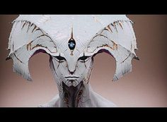 Shell Alien 3D creature artwork by digital artist David Giraud of Montreal, Canada!!!