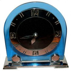 Art Deco modernist Clock