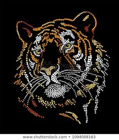 Find Muzzle Tiger stock images in HD and millions of other royalty-free stock photos, illustrations and vectors in the Shutterstock collection. Mandala Art, Mandala Painting, Mandala Design, Magic Design, Rhinestone Art, Dot Art Painting, Celtic Art, Button Art, Fractal Art