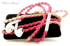 Pink earbuds skullcandy - headphone splitter pink