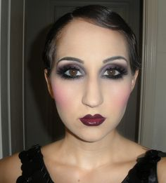 LC makeup artist: 1920s makeup fotd and tutorial