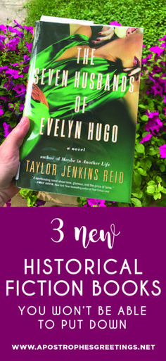 3 New Historical Fiction books you won't be able to put down