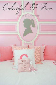 Maria Barros Home. Girls room