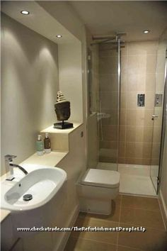 small ensuite shower room design ideas - Google Search