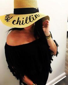 "118 Likes, 5 Comments - Alicia DiMichele Boutique (@aliciadimicheleboutique) on Instagram: ""Feelin Boojie 💁🏻 • Penina Top • Just Chillin Beach Hat"""