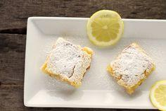 Gluten Free Coconut Lemon Bars