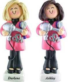 Personalized Christmas Ornament Hair Stylist by PersonalizeStation, $11.99