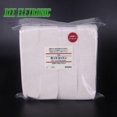 >> Click to Buy << 180pcs 100% Original Japanese Organic Cotton E Cigarette Cotton For RDA RBA Atomizer Coil Wick No Bleach Healthy Huge Vapor #Affiliate