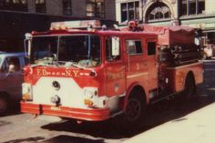 "F.D.N.Y. Mack CF Engine 3 during the ""War Years"""