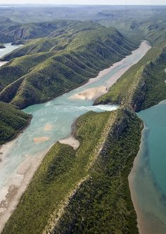 Horizontal Falls, Kimberley region in Western Australia....caused by a huge tide through the narrow opening.   - Explore the World with Travel Nerd Nici, one Country at a Time. http://TravelNerdNici.com