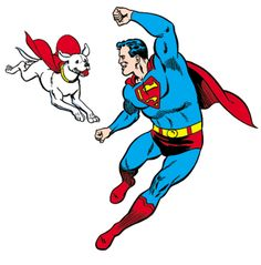 Superman & Superdog - krypto-the-superdog Photo
