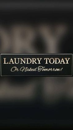 Check out this item in my Etsy shop https://www.etsy.com/listing/545994215/laundry-today-or-naked-tomorrow-funny