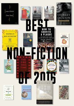 These are the essay collections, memoirs, and nonfiction reads that we absolutely loved in 2016. (Ranked in no particular order.)