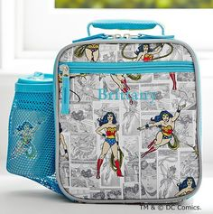 Yes to Wonder Woman lunch bags!