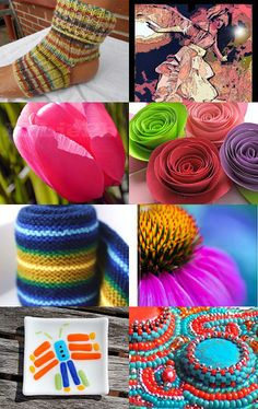 Dancing Colors by Margie Homan on Etsy--Pinned with TreasuryPin.com