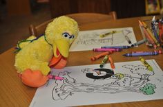 coloring by WCPL, Pa, USA, via Flickr