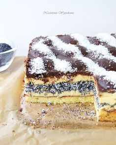 Poppy Seed Cake, Tiramisu, Food And Drink, Yummy Food, Cookies, Ethnic Recipes, Sheet Cakes, Backen, Biscuits