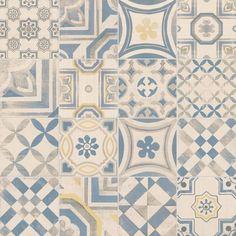 Pavimento/rivestimento in gres porcellanato CEMENTINE COLOR Collezione Cementine by CERAMICHE KEOPE