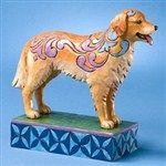 Kibby-Golden Retriever Figurine from  - Jim Shore Store