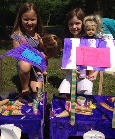 Mini 18'' Doll American Girl Doll Hot Dog Huts Craft #agdoll #hotdog #minifood #18''dollcraft