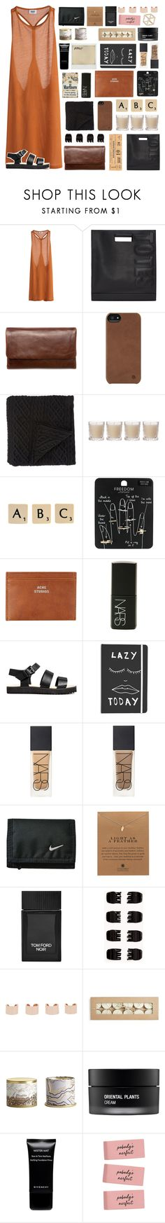 """""""thanks for 1k! ♡"""" by sxmething-like-fate ❤ liked on Polyvore featuring MTWTFSS Weekday, 3.1 Phillip Lim, Status Anxiety, Incase, Morgan Collection, Shabby Chic, Rock 'N Rose, Topshop, Acne Studios and NARS Cosmetics"""